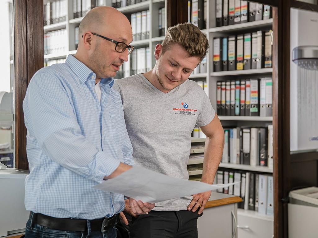 Corporate Fotografie Teamfoto Knorr und Richter