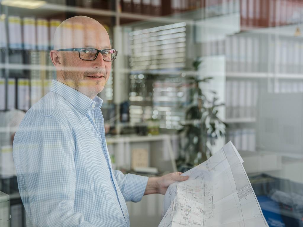 Businessportrait Handwerk Herr Richter Businessfotos Fotos Handwerker Sanitär